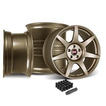 Mustang SVE R350 Wheel Kit - 19x10  - Satin Bronze (05-14)