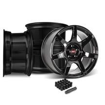 Mustang SVE R350 Wheel Kit - 19x10/11  - Gloss Black (15-19)