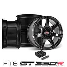 SVE Mustang R350 Wheel Kit - 19x10/11 (GT350/GT350R Specific)  - Gloss Black (15-20)