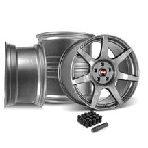 Mustang SVE R350 Wheel Kit - 19x10/11  - Liquid Graphite (15-20)