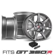 Mustang SVE R350 Wheel Kit - 19x10/11  - Liquid Graphite (15-18)