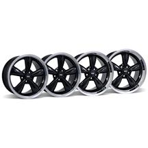 Mustang Bullitt Wheel Kit - 18x9/10 Black (05-17)