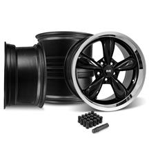 Mustang Bullitt Wheel Kit - 18x9/10 Black (05-14)