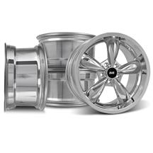 Mustang Bullitt Wheel Kit - 18x9/10  - Chrome (05-17)