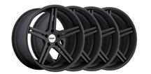 Mustang TSW Mirabeau Wheel Kit - 19x8.5/9.5 Matte Black (05-15)