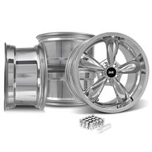 Mustang Bullitt Wheel & Lug Nut Kit - 20x8.5/10 Chrome (15-17)