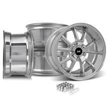 Mustang FR500 Wheel & Lug Nut Kit - 20x8.5/10 Chrome (15-17)