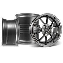 Mustang FR500 Wheel Kit - 20x8.5/10 Black Chrome (05-17)