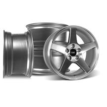 Mustang SVE 2003 Cobra Style Wheel Kit - 17x9 - Machined (94-04)