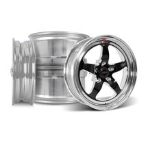 Mustang Weld RT-S Wheel Kit - 17x5/17x10 Black (94-04)