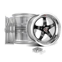 Mustang Weld RT-S Wheel Kit - 18x5/17x10 Black (05-17)