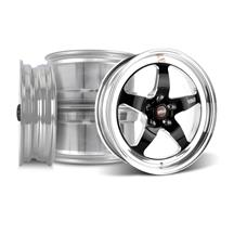 Mustang Weld RT-S Wheel Kit - 18x5/17x10 Black (05-16)