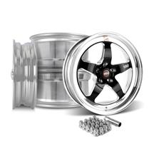 Mustang Weld RT-S Wheel Kit - 18x5/17x10  - Black (15-17)
