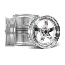 Mustang Weld RT-S S71P Wheel Kit - 17x5/15x10 Polished (94-04)