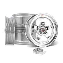 Mustang Weld RT-S S71P Wheel Kit - 18x5/17x10  - Polished (05-14)