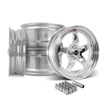 Mustang Weld RT-S S71P Wheel Kit - 18x5/17x10  - Polished (15-18)