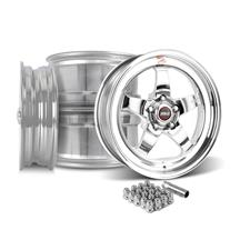 Mustang Weld RT-S S71P Wheel Kit - 18x5/17x10  - Polished (15-17)