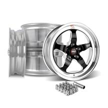 Mustang Weld RT-S Wheel Kit - 17x5/17x10  - Black (15-17)
