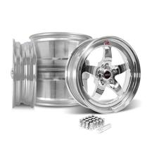 Mustang Weld RT-S S71P Wheel Kit - 17x5/17x10 Polished (05-14)
