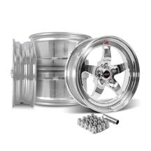 Mustang Weld RT-S S71P Wheel Kit - 17x5/17x10  - Polished (15-18)