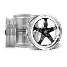 Mustang Weld RT-S Wheel Kit - 17x5/15x10 Black (05-14)