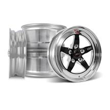 Mustang Weld RT-S Wheel Kit - 15x4/15x10 Black (05-10)