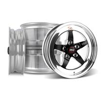 Mustang Weld RT-S Wheel Kit - 15x4/15x10 Black (94-04)