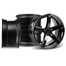 Mustang DF5 Wheel Kit - 20x8.5/10 Piano Black (05-17)