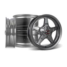 Mustang Race Star Drag Star Wheel Kit - 15x3.75/10  - Metallic Gray - Direct Drill (79-93)