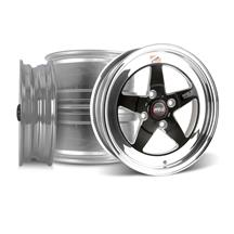 Mustang Weld RT-S Wheel Kit - 15x4/15x8 Black (79-93)