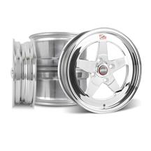 Mustang Weld RT-S Wheel Kit - 15x4/15x8 Polished (79-93)