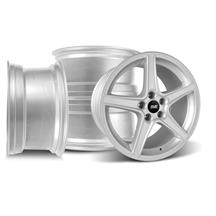 Mustang SVE Saleen Style Wheel Kit - 18x9/10 Silver (94-04)