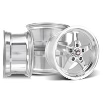 F-150 SVT Lightning Race Star Drag Star Wheel Kit - 17x7/10.5  - Polished - Direct Drill (00-04)