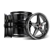 Mustang Race Star Dark Star Wheel Kit - 18x5/17x9.5  - Direct Drill (05-14)