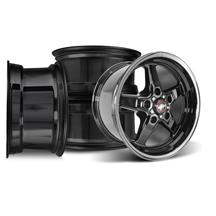 F-150 SVT Lightning Race Star Dark Star Wheel Kit - 17x7/10.5  - Direct Drill (00-04)