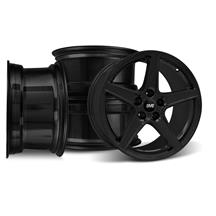 Mustang SVE Saleen Style Wheel Kit - 18x9 Black (94-04)