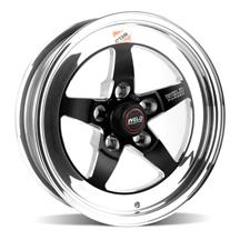Mustang Weld 5-Lug RT-S S71 Wheel - 15x4  - Black (79-93)