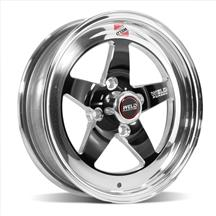 Mustang Weld RT-S S71 Wheel - 15x4  - Black (79-93)