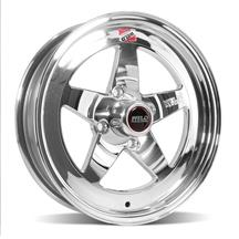 Mustang Weld RT-S S71 Wheel - 15x4 Polished  (79-93)