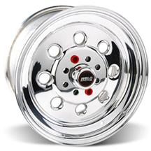 "Mustang Weld Racing Draglite Wheel - 15x10"" Polished (79-93)"