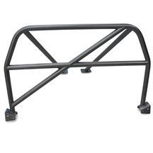 Mustang Watson Racing 4 Point Bolt-In Roll Cage  - Gray (05-14)
