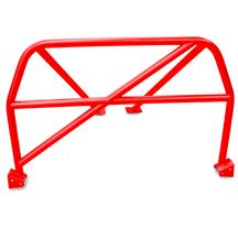 Mustang Watson Racing 4 Point Bolt-In Roll Bar  - Red (05-14)