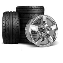 "F-150 SVT Lightning SVE 01-02 Style Wheel & Tire Kit - 18x9.5""  - Chrome - NT555 G2 Tires (99-04..."