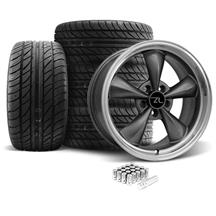 Mustang Bullitt Wheel & Tire Kit - 18X9 Anthracite (05-14)