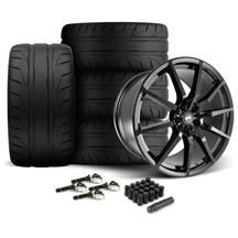 Mustang SVE S350 Wheel & Tire Kit - 20x10  - Gloss Black - NT05 Tires (15-18)