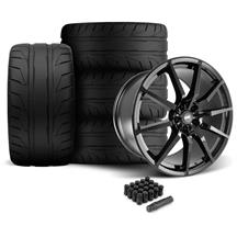 Mustang SVE S350 Wheel & Tire Kit - 20x10  - Gloss Black - NT05 Tires (05-14)