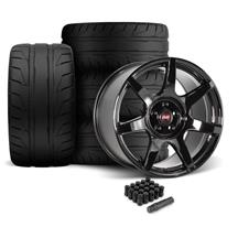 Mustang SVE R350 Wheel & Tire Kit - 19x10/11  - Gloss Black - NT05 Tires (05-14)
