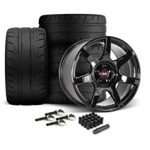 SVE Mustang R350 Wheel & Tire Kit - 19x10/11  - Gloss Black (15-21) Nitto NT05