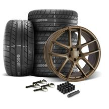 Mustang Velgen VMB5 Wheel & Tire kit - 20x9/10.5  - Bronze - M/T Street Comp Tires (15-19)