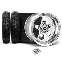 Mustang Weld RT-S Wheel & Tire Kit - 17x5/17x10 (94-04)